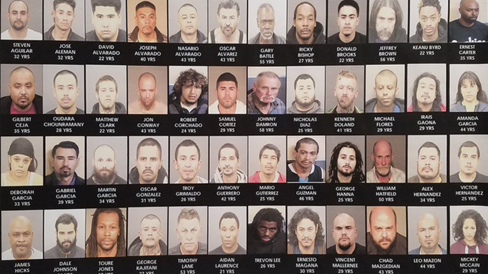 Gang enforcement operation takes 103 off the streets | KMPH