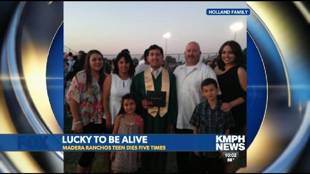 Teen Dies Five Times and Lives To Tell His Story | KMPH