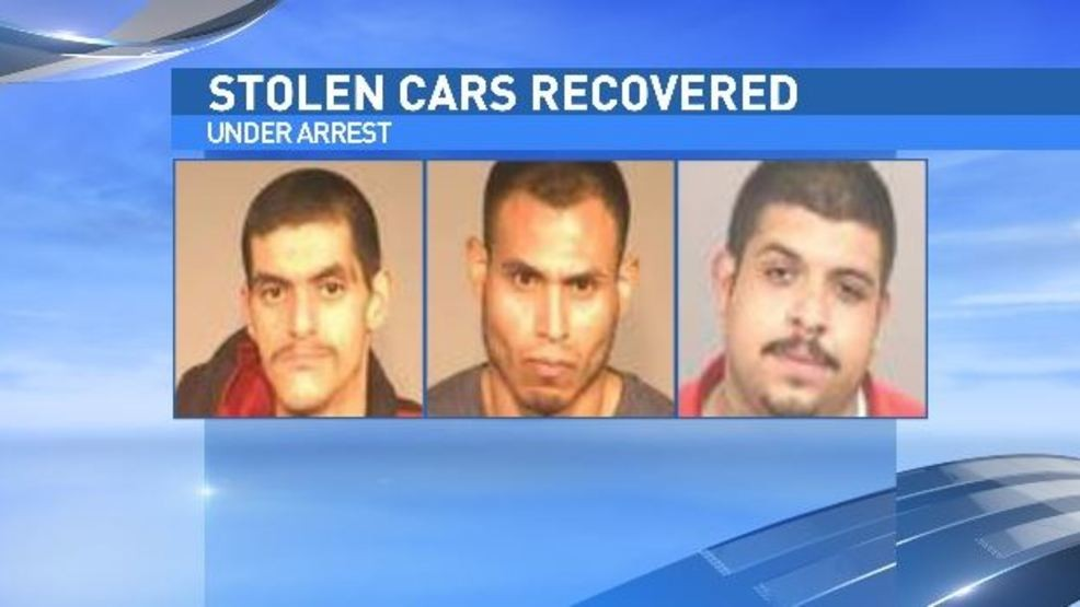 Men accused of stripping stolen cars | KMPH