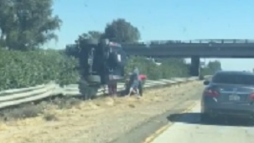 Delays On Highway 99 Following Crash Into Center Divide Kmph