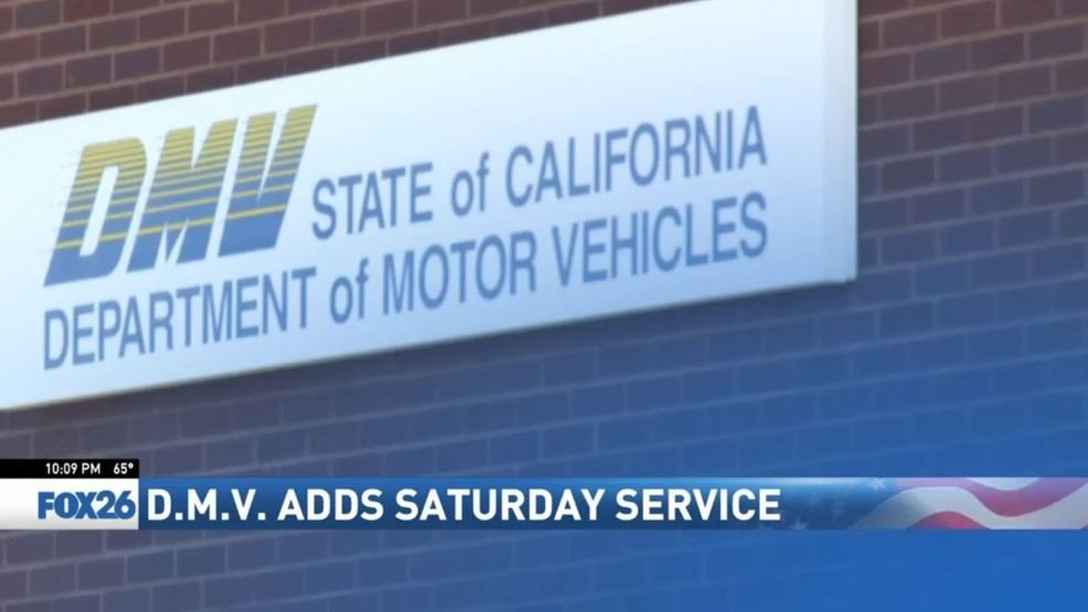 California DMV to offer Saturday service hours to cut down
