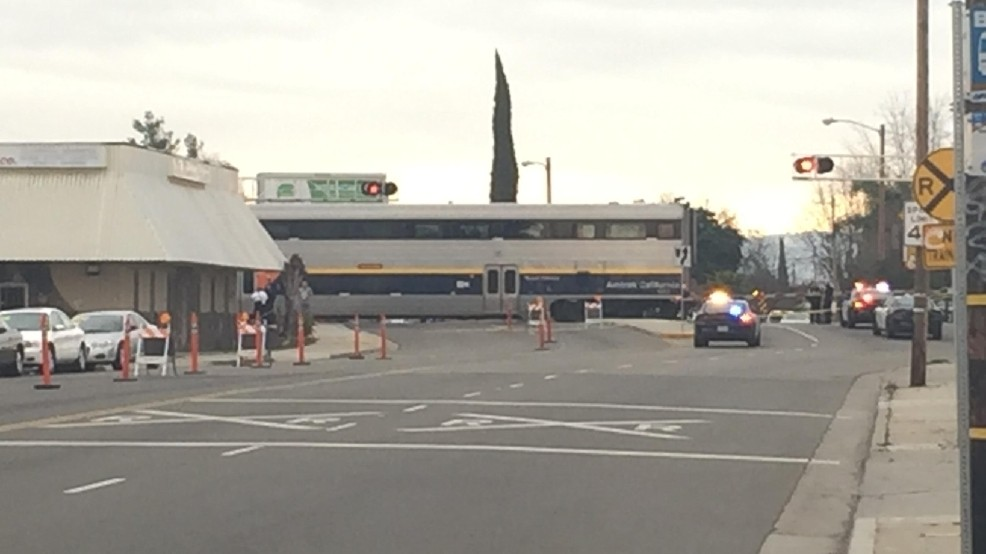 Woman in extreme condition after being hit by Amtrak train