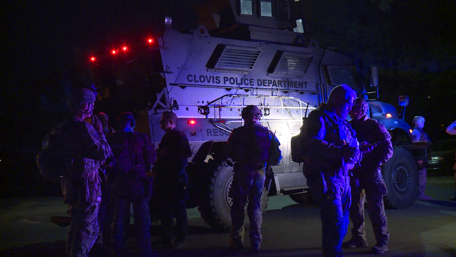 Hours-long standoff at biker clubhouse ends with 7 arrests
