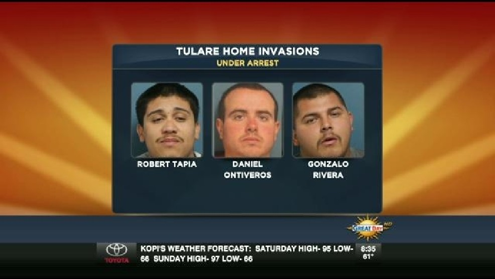 Detectives Bust Tulare County Home Invasion Ring | KMPH