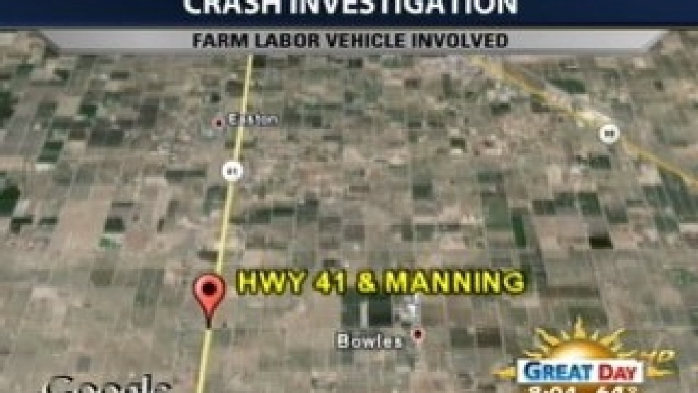 Farm Labor Vehicle Involved In Early Morning Crash | KMPH
