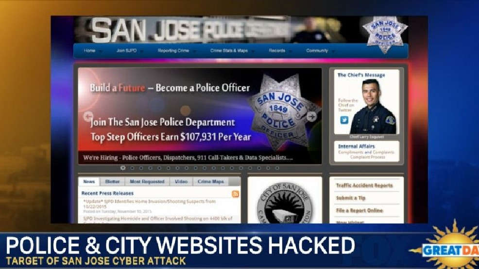 San Jose Police and City Websites Hacked | KMPH