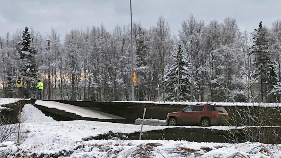 Photos of earthquake in alaska 2020