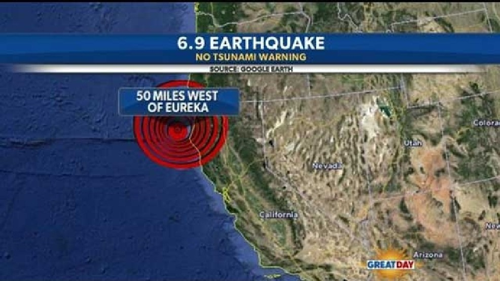 Magnitude 6 9 Earthquake Hits Off California Coast | KMPH